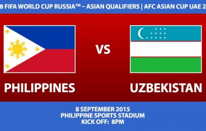 Philippines vs Uzbekistan Ticket Information