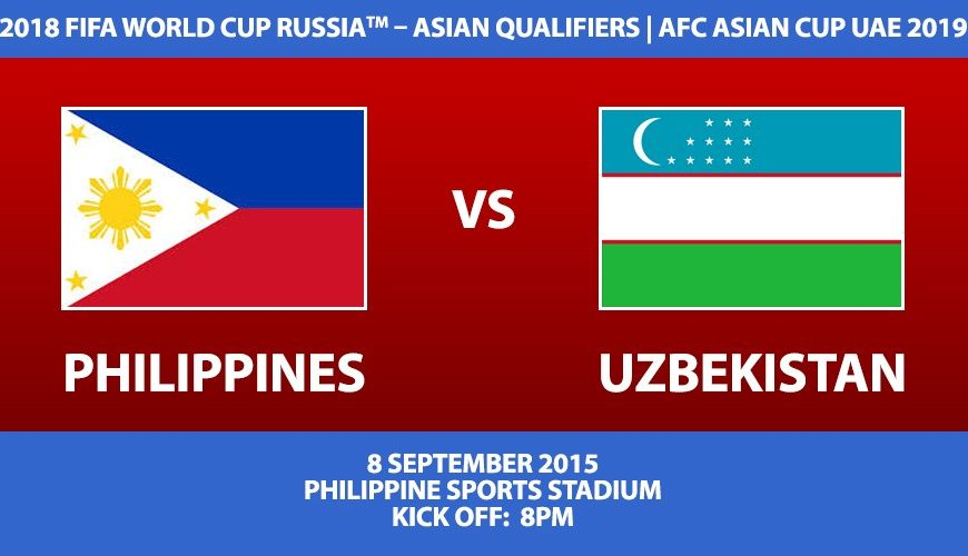 Philippines vs Uzbekistan Ticket Information