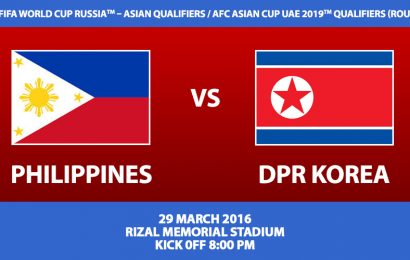Philippines versus North Korea World Cup Qualifying information