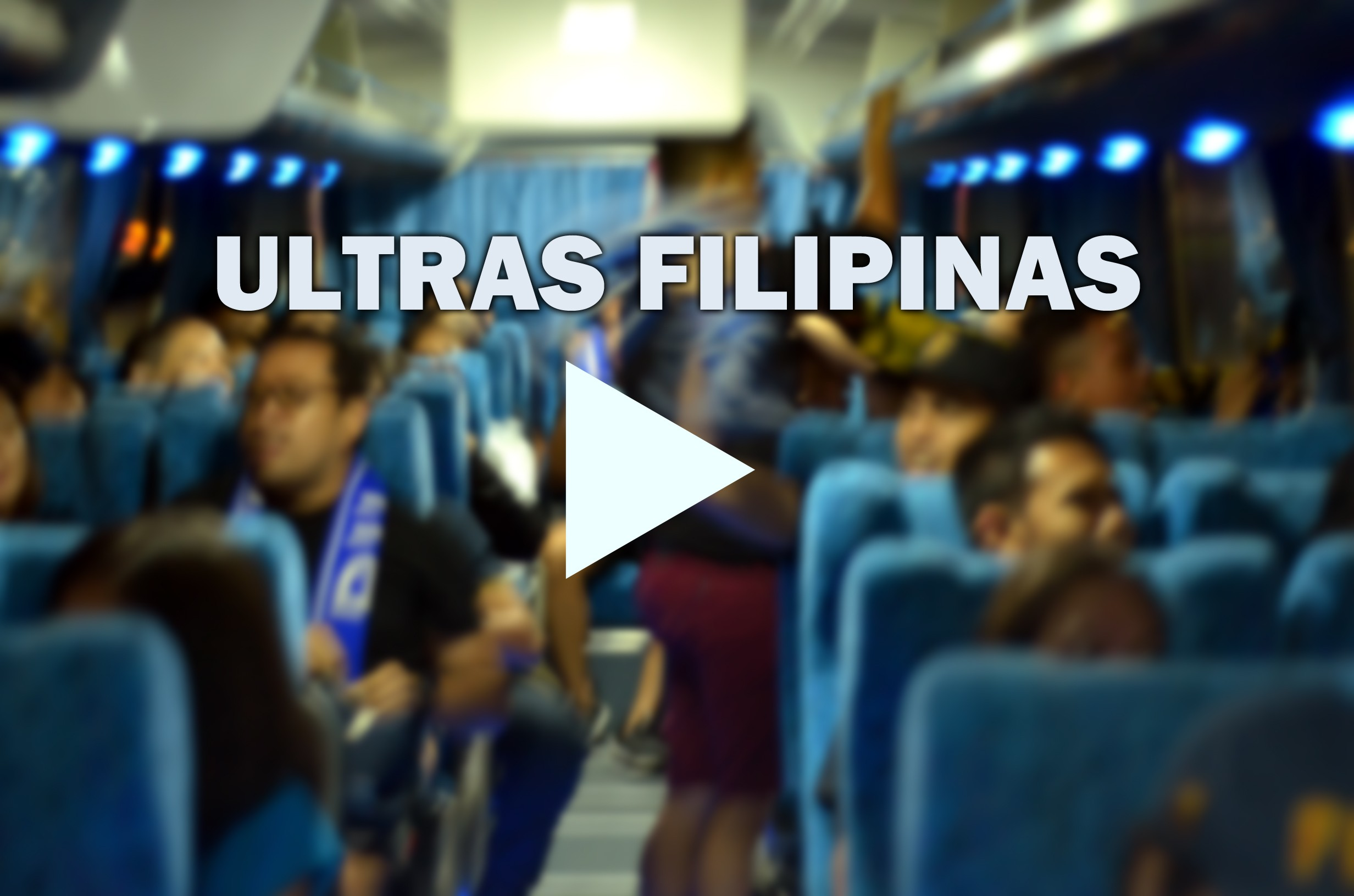 Video: Ultras Filipinas chanting inside the bus all the way to Philippine Stadium