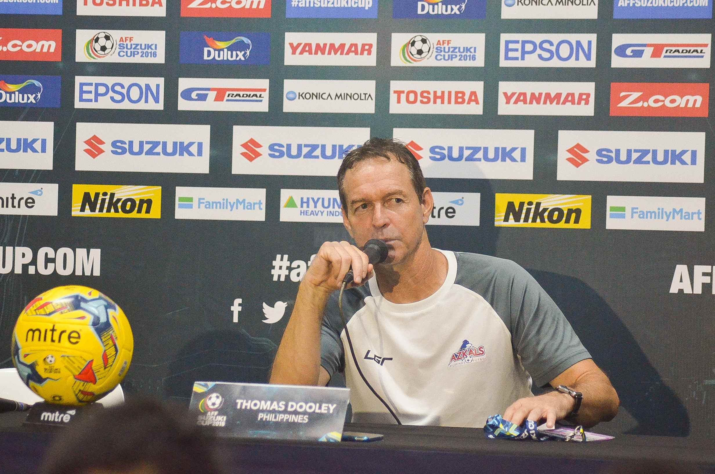 Coach Dooley chides lack of support from football fans in Manila