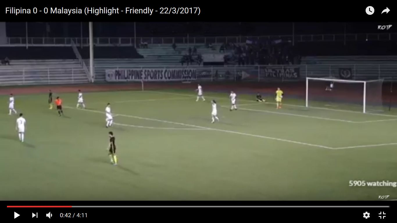 Philippines vs Malaysia full match replay