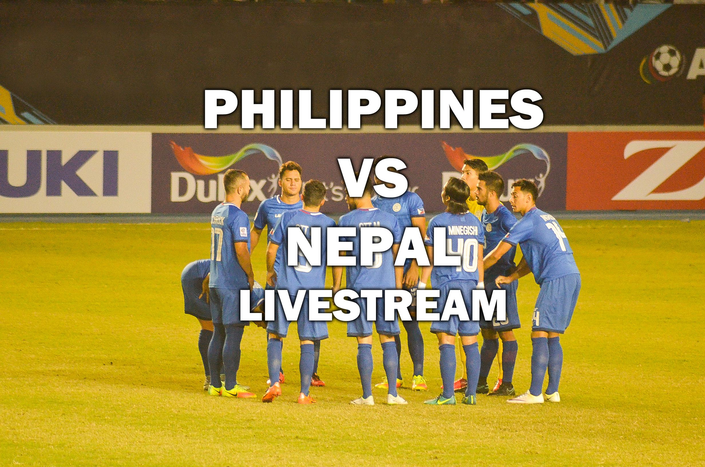 Philippines vs Nepal livestream