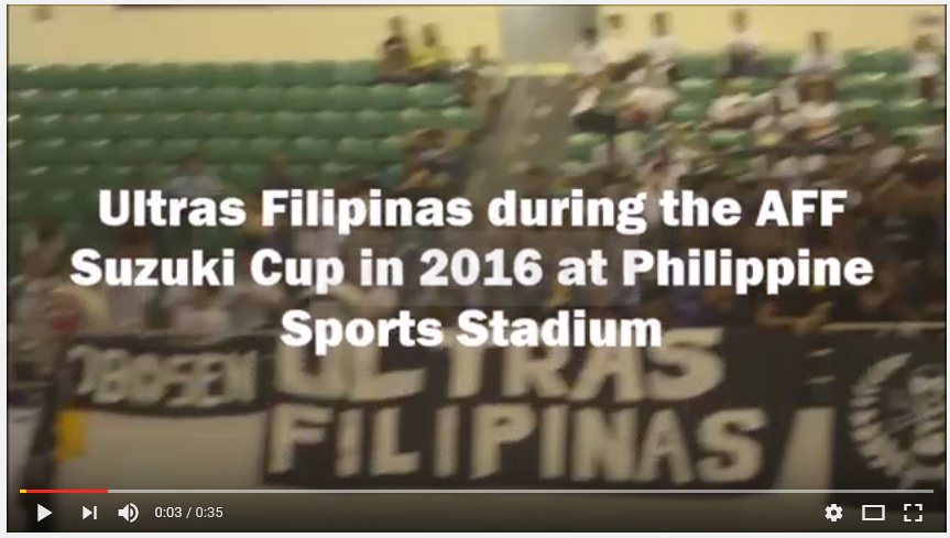"Video: Ultras Filipinas chants ""Azkals!"""