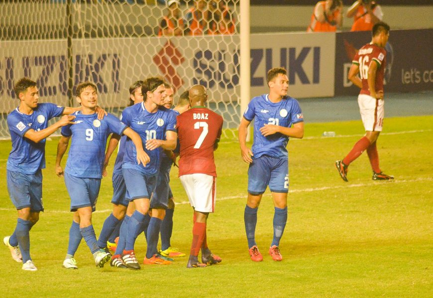 China vs Philippines friendly game on June 7