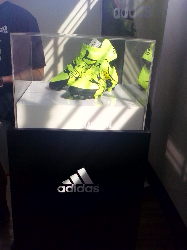adidas X15 in display