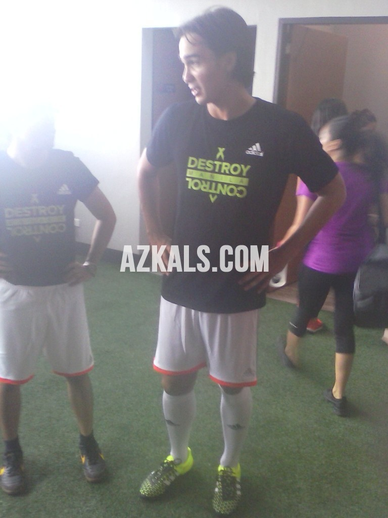 James Younghusband decked with the adidas Ace15